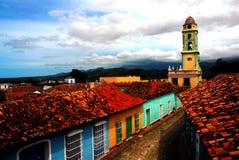 Trinidad. Colored town in Cuba, Trinidad Stock Image