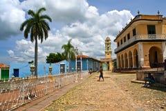 Trinidad, Cuba. Colonial street and buildings. Trinidad, Cuba Royalty Free Stock Image