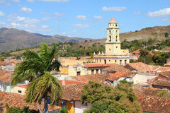 Trinidad, Cuba. Colonial town cityscape. UNESCO World Heritage Site Royalty Free Stock Photo