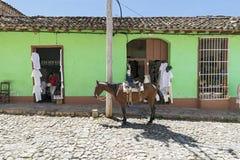 Trinidad, Cuba Stock Foto's
