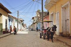Trinidad, Cuba Imagem de Stock Royalty Free