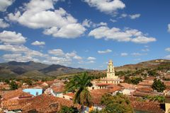 Trinidad, Cuba. Colonial town cityscape. UNESCO World Heritage Site Royalty Free Stock Image