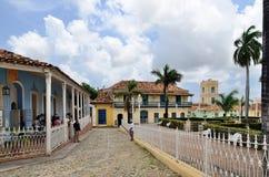 Trinidad, Cuba – colonial town. Stock Photos