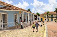 Trinidad, Cuba – colonial town. Stock Image