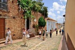 Trinidad, Cuba – colonial town. Royalty Free Stock Image