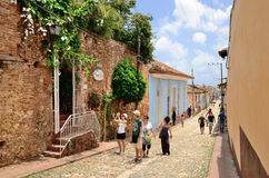 Trinidad, Cuba – colonial town. Royalty Free Stock Photography