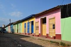Trinidad, Cuba. Colorful houses in Trinidad, Cuba Royalty Free Stock Photos