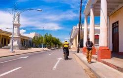 TRINIDAD, CUBA - 12 DE SEPTIEMBRE DE 2015: Capital de Foto de archivo