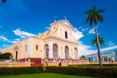 TRINIDAD, CUBA - 8 DE SEPTIEMBRE DE 2015: señaló a Imagen de archivo