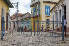 Trinidad, Cuba: Everyday Scenes and Way of Life Stock Images