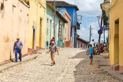 Trinidad, Cuba: Everyday Scenes and Way of Life royalty free stock images