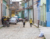 Trinidad, Cuba: Everyday Scenes and Way of Life Royalty Free Stock Photography