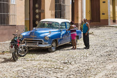 Trinidad, Cuba: Everyday Scenes and Way of Life Royalty Free Stock Photos