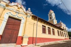 Trinidad, Cuba. National Museum of the Struggle Against Bandits. Tower royalty free stock photo