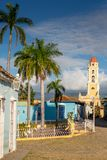 Trinidad, Cuba. National Museum of the Struggle Against Bandits. Tower royalty free stock images
