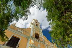 Trinidad, Cuba. National Museum of the Struggle Against Bandits. Unesco town royalty free stock images