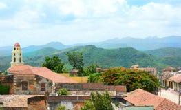 Trinidad Cuba Overview photo stock