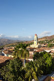 Trinidad, Cuba - panoramic view from Palacio Cantero tower Stock Images