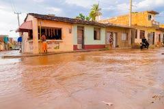 Free TRINIDAD, CUBA - SEPTEMBER 8, 2015: Flooded Stock Photos - 60507013