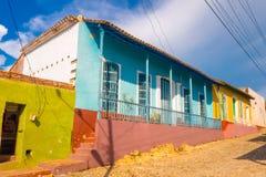TRINIDAD, CUBA - SEPTEMBER 8, 2015: designated a Royalty Free Stock Image