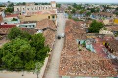 Trinidad - Cuba. Trinidad Village Rooftops in Cuba Royalty Free Stock Images