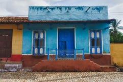 Trinidad, Cuba. Vista de Trinidad Imagen de archivo