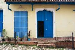 Trinidad, Cuba. Vista de Trinidad Imagenes de archivo