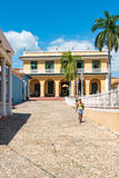 Trinidad de Cuba Everyday Scenes of the Colonial Village Stock Photography