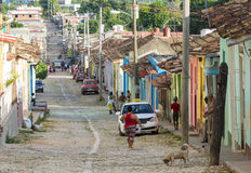 Trinidad de Cuba Everyday Scenes of the Colonial Village Stock Image