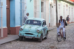 Trinidad de Cuba Everyday Scenes of the Colonial Village Stock Images