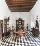 Trinidad de Cuba: Old Vintage Colonial House, Architecture and Details Stock Photo