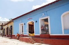 Trinidad De Kuba Kolonista, travel-2 obrazy stock