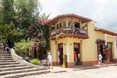 Trinidad De Kuba Kolonista, travel-3 Obraz Royalty Free