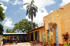 Trinidad De Kuba Kolonista, travel-4 obraz stock
