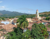 Trinidad em Cuba Imagem de Stock