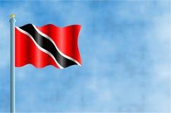 Trinidad en Tobago royalty-vrije illustratie
