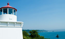 Trinidad Head Lighthouse Royalty Free Stock Images