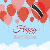 Trinidad i Tobago dnia niepodległości mieszkanie Zdjęcie Stock