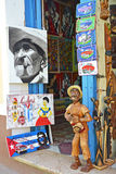 Trinidad konst shoppar Royaltyfri Bild