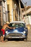 Trinidad Kuba Stockbild