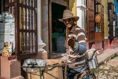 TRINIDAD KUBA - 06 MAJ 2017 Royaltyfria Foton