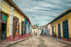 TRINIDAD, KUBA - 06 2017 MAJ Obrazy Stock