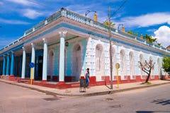 TRINIDAD KUBA - SEPTEMBER 12, 2015: Huvudstad av Royaltyfri Fotografi