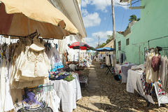 Trinidad market Stock Photo