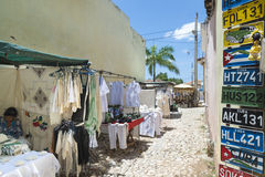Trinidad market Stock Photography