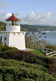 Trinidad Memorial Lighthouse in Northern Californi Stock Photos