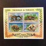 Trinidad och Tobago post- stämplar arkivfoton