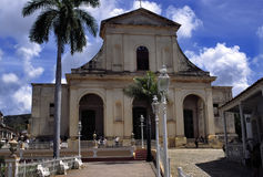 Trinidad old church Royalty Free Stock Image