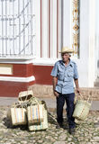Trinidad peddler Royalty Free Stock Photo