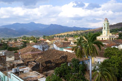Trinidad roof tops, Cuba Royalty Free Stock Photos
